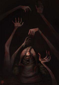 Dead Hand (Zelda OOT);   (Gaaaaah!! These freak me the @#$% out! Good enemies though...)