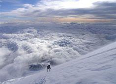 Rainier Descent by photo61guy, via Flickr