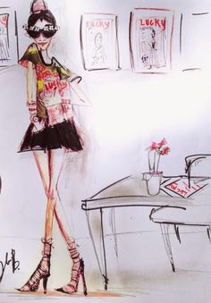 We're obsessed: Blair Breitenstein's illustrations | Fitzroy Boutique