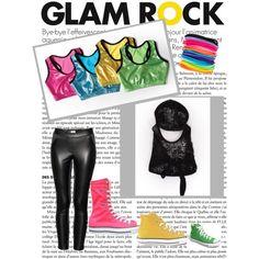 Glam Rock Hip Hop, created by awishcometrue
