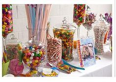 Thank You Chocolates - Candy Buffets and Chocolate Favours for all Occasions - Birthdays - Birthday Party Candy Buffet Sweet 16 Birthday, Birthday Bash, Birthday Parties, Birthday Candy, Cupcake Birthday, Birthday Ideas, Bar A Bonbon, Festa Party, Sweet 16 Parties