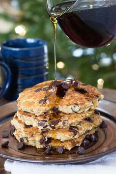 Oatmeal Quinoa Pancakes from the NEW cookbook from Alyssa Rimmer, Quinoa for Breakfast