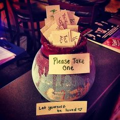 """Tag and/or to show off and I'll add your photos to my website on the """"Happiness Jar Project"""" page that is in the making! Happy Jar, Yogurt Shop, Wine Glass, Happiness, Tableware, Zen, Projects, Spiritual, Crafts"""