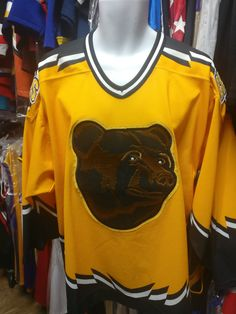 Vintage BOSTON BRUINS NHL CCM Jersey L