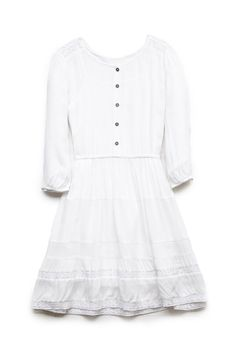 Lace-Trim Peasant Dress (Kids) | FOREVER21 #F21Girls #SummerForever
