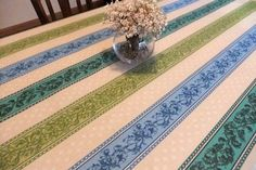 French cotton and coated tablecloths from Provence