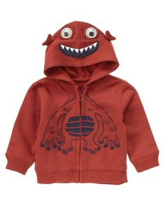 Awesome alien! 3-D eyes and embroidery on super soft fleece.204р