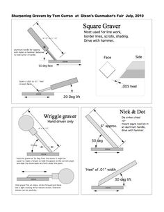 sharpening a graver - Google Search