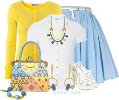 """Spring Wear"" by mssgibbs on Polyvore"