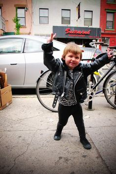 Possibly the raddest kid ever?