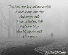 I wish u would come back dad  (17.4.1953-10.2.2014)