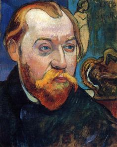Portrait of Louis Roy by Paul Gauguin in oil on canvas, done in Now in a private collection. Find a fine art print of this Paul Gauguin painting. Paul Gauguin, Henri Matisse, Henri Rousseau, Photo Portrait, Portrait Art, Monet, Impressionist Artists, Art Graphique, Painting Lessons