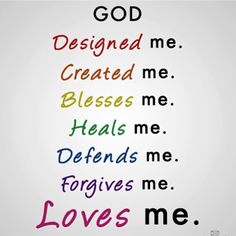 God Loves Me, the Bible tells Me so! Bible Quotes, Bible Verses, Me Quotes, Scriptures, Famous Quotes, Godly Quotes, Prayer Quotes, Sunday School Rooms, Sunday School Snacks