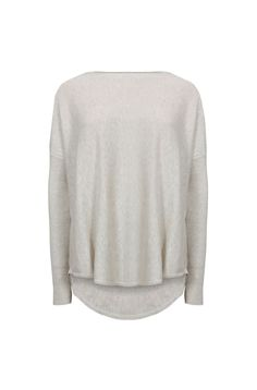 HI LOW KNIT PULLOVER