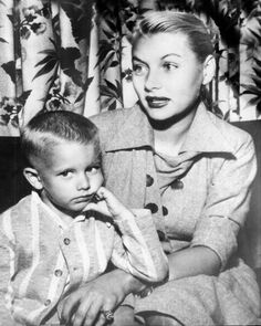 Barbara Payton and son John
