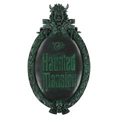 Disney Wall Sign - The Haunted Mansion - Logo