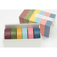 MT Wamon set of six masking tapes
