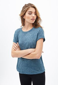 Classic Textured Knit Tee | FOREVER21 - 2000136965