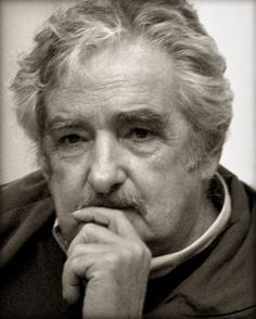 """Uruguayan President José Mujica. His lifestyle is a far cry from his foreign counterparts. No splendid residence, luxury cars and multitudes of women. Ninety percent of the presidential salary to charity giving. Instead of being a role model for other statesmen, got ungrateful nickname """"president of the world's poorest."""""""