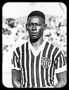 João Ramos do Nascimento (2 October 1917 – 16 November 1996) nicknamed Dondinho was a Brazilian footballer that played as a striker, and was the father, mentor and trainer of Brazilian legend Pelé.During his own playing career, Dondinho played for a number of small clubs and had an opportunity to play for Atlético Mineiro for 2 seasons, but did not make an impression. He managed to become a prolific scorer for Bauru, with whom he won the Campeonato Paulista do Interior de Futebol in 1946.