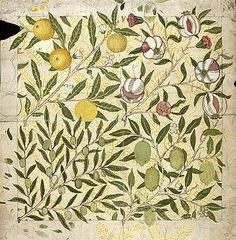 William Morris, wallpaper design
