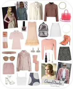 Character Style Inspiration - Chanel Oberlin (Scream Queens)
