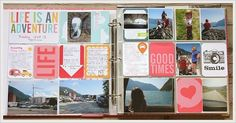 Project Life Norge: Glimt fra mitt feriealbum Life Is An Adventure, Project Life, Good Times, Gallery Wall, Frame, Projects, Log Projects, Frames, Picture Frames