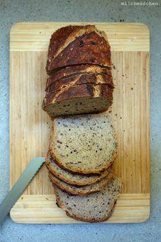Weizenmischbrot und -brötchen mit Slow Dough – milchmädchen. - Sauerteig+hefe