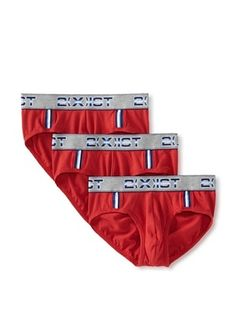 45% OFF 2(X)IST Men's Contour Pouch Brief 3-Pack (Red)