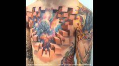 Insane #3d #tattoo by Jesse Rix: https://www.youtube.com/watch?v=FqPWcJePFmU