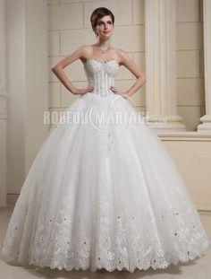 robe de mariée princesse bustier princesse bustier mariée princesse ...