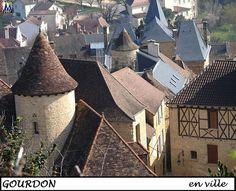 GOURDON - (Lot)