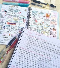 Imagen de journals, notebooks, and pens