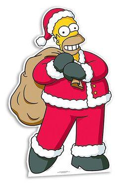 Homer Simpson, Christmas Drawing, Christmas Art, Christmas Photos, Christmas Decorations, The Simpsons, Simpsons Drawings, Simpsons Characters, Christmas Cartoons