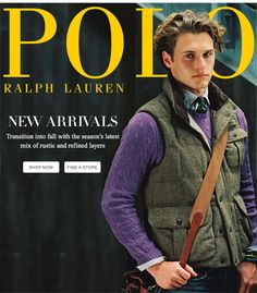 Rustic And Refined Layers From Polo Ralph Lauren Style, Polo Ralph Lauren, Preppy Style, Men's Style, Classic Style, New England Prep, Preppy Mens Fashion, Student Fashion, Moda Masculina