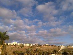 Canary Islands Photography: Nubes sobre Sonneland en Maspalomas Gran Canaria @...