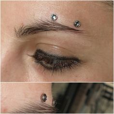 In other news, here's a horizontal eyebrow surface piercing from yesterday on an awesome client. (at Comes A Time Tattoo) Face Piercings, Peircings, Piercing Tattoo, Body Piercing, Eyebrow Piercing Horizontal, Surface Piercing, Nose Jewelry, Time Tattoos, Body Modifications