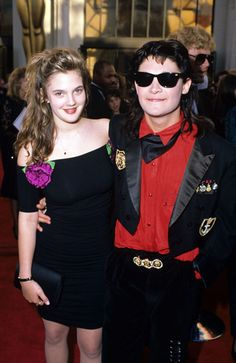 Drew Barrymore & Corey Feldman | Unexpected Celebrity Couples From The '80s