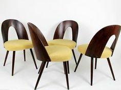 1 from 4 original VINTAGE MID CENTURY MODERN BENT PLYWOOD TATRA chair 1960 s'