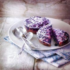 Des petits gâteaux aux fruits rouges à croquer pour le goûter...