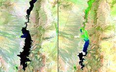 Elephant Butte Reservoir Shrinks