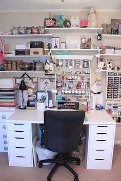 Where Bloggers Create 2015- A Tour Of My Craft Room