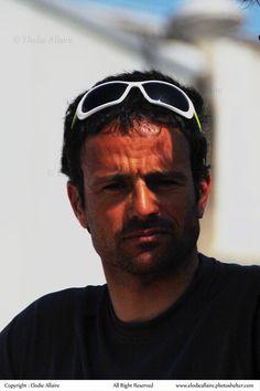 Gros plan sur Franck Cammas   Crédit : E Allaire / www.scanvoile.com #TourVoile #Groupama #FranckCammas #Portrait