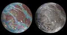 Jüpiter'in Uydusu Ganymede'nin Jeolojik Haritası Çıkarıldı