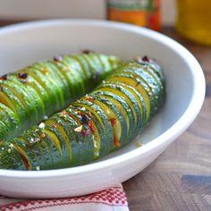 hassle-back+zucchini,+Italian-style.+Who+needs+those+potatoes+anyhow?...dinnervine.com