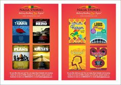 Introducing the Naija Stories Line of Books and Short Story Collections From NS Publishing Ltd