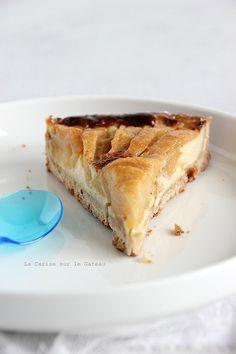 appletart045 Tarte aux pommes (sans gluten) au lait de coco & citron vert