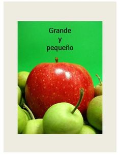 Grande y pequeño - a free ebook for kids learning Spanish.