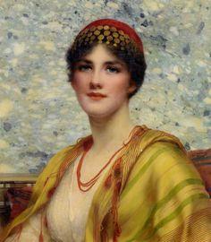 William Clarke Wontner (1857-1930)  Leonora