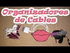 Organiza tus Cables DIY - YouTube
